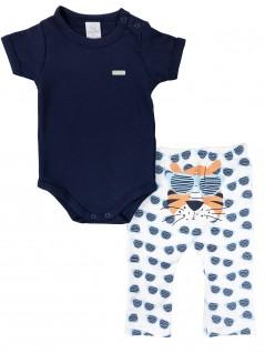 Conjunto de Bebê Body e Culote Tigre - Piu Piu
