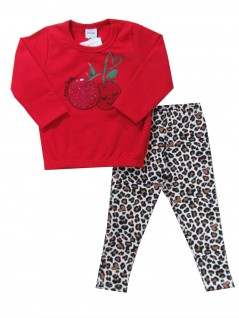 Conjunto Infantil Bebê Cherry Baby - Rovitex