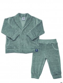 Conjunto Bebê Masculino Plush Aberto - Piu Blu