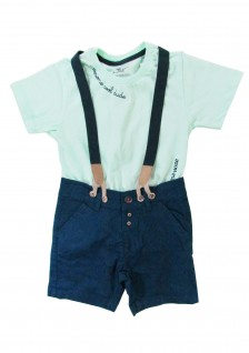 Conjunto Infantil Menino Awesome Cool Dude - Trick Nick