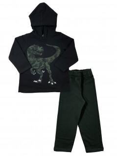 Conjunto Infantil Dino com Capuz - Rovitex