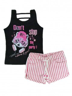 Conjunto Infantil Don't Stop the Party - Rovitex