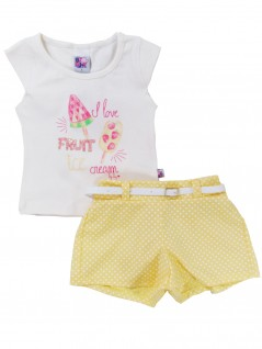 Conjunto Infantil I love Fruit - Big Day