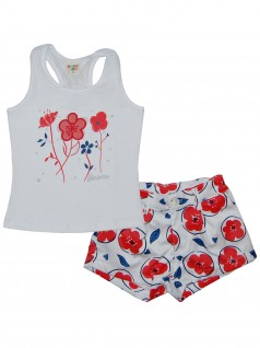 Conjunto Infantil Nadadora Flowers - Have Fun