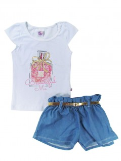 Conjunto Infantil Menina Beautiful Me  - Big Day