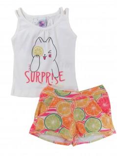 Conjunto Infantil Menina Verão Surprise - Big Day
