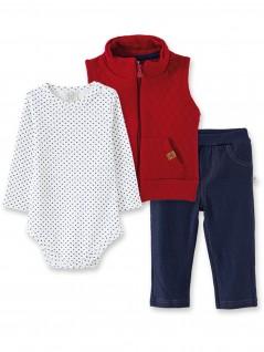 Conjunto para Bebê Body e Calça  e Colete Flechas - Pingo Lelê