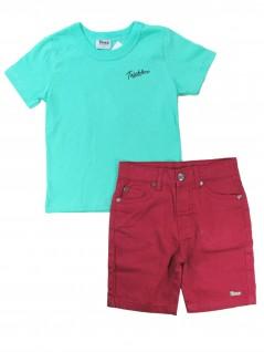 Conjunto Infantil com Camiseta Básica - Trick Nick