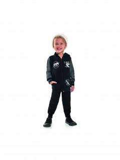 Conjunto Bebê Infantil Tiyrant Lizard Preto - Livy