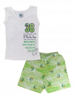 Conjunto Bebê Regata Masculino N.Y.C - Big Day