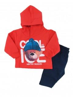 Conjunto Infantil com Capuz Winter Season - Kyly