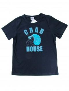 Camiseta Infantil Masculina Crab House - Rovitex