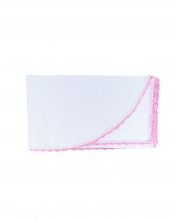 Cueiro Branco Liso com Pink - Albarella