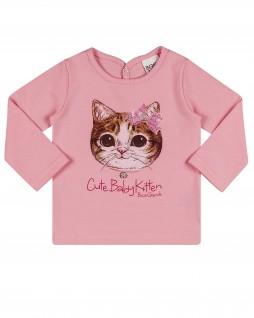 Camiseta Infantil Cute Baby Kitten - Boca Grande