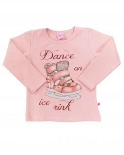Blusa Infantil Dance on Ice Rink - Dila