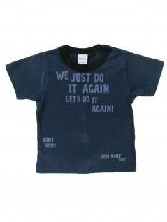 Camiseta Infantil Manga Curta Dont Stop  - Rovitex