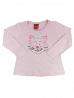 Blusa Infantil Gato Colorido - Kyly