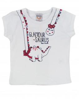 Blusa Infantil Glamour Saurus - Boca Grande