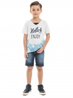 Camiseta infantil  Enjoy - Minore