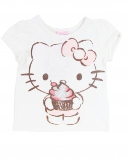 Blusa Infantil Cupcake Hello Kitty - Hello Kitty