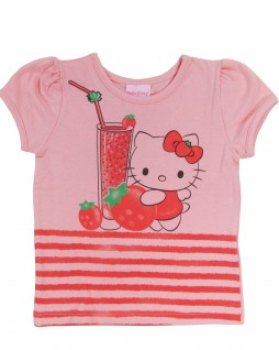 Blusa Infantil Frutas Hello Kitty - Hello Kitty