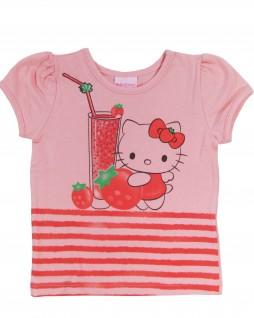 Blusa Infantil Frutas Hello Kitty - Hello Kitty