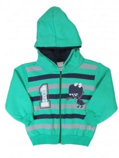 Blusão para Bebê Menino com Capuz 1 Verde - Minore