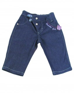 Calça Jeans Infantil Borboleta - Clube do Doce