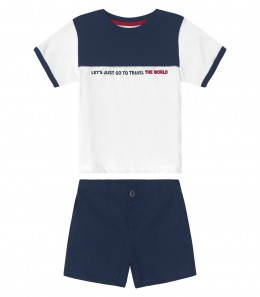 Conjunto Infantil Travel The World - Trick Nick