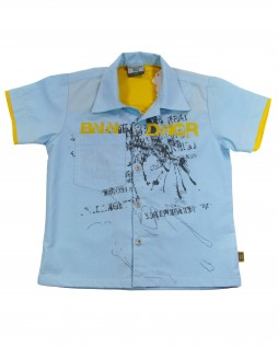 Camisa Infantil Kids Blue - Banana Danger