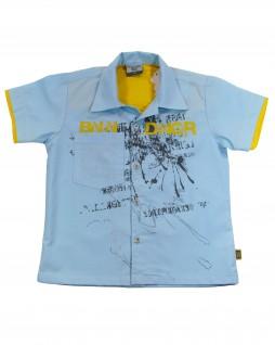 Camisa Infantil Kids Blue - Banana Danger