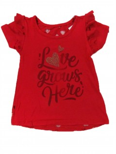 Blusa Infantil Love Vermelha - Rovitex