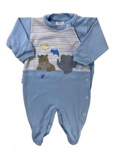 Macacão Longo para Bebê Amigos - Hira-Imi