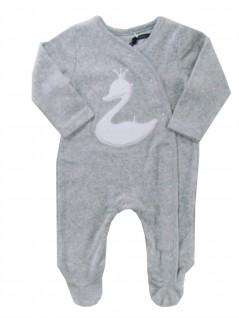 Macacão Bebê em Plush Cisne - TipTop