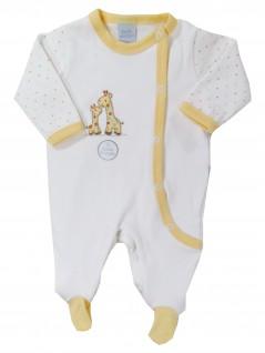 Macacão Longo Bebê Girafas Aplicadas - Piu Piu