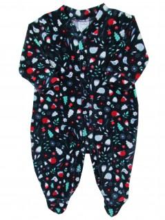 Macacão Comprido Bebê Plush Passarinhos - Piu Blu