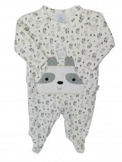 Macacão Longo Bebê Menino Guaxinim - Piu Piu