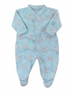 Macacão Comprido Bebê Soft Foquinha - Piu Blu