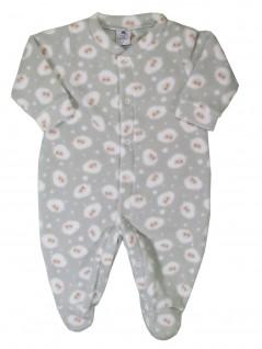 Macacão para Bebê em Soft Ovelhinhas - Piu Blu