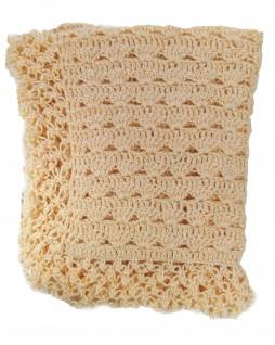 Manta de Lã Feita à Mão Champagne - Albarella