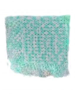 Manta de Lã para Bebê Mesclada Verde - Albarella