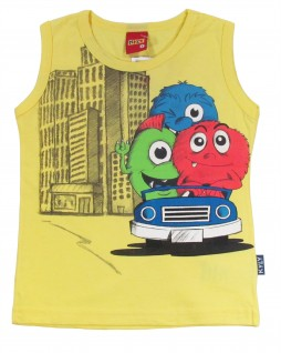 Camiseta Regata Infantil Monsters - Kyly