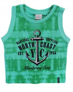Camiseta Regata Infantil Monterey Bay - Minore