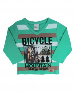 Camiseta infantil Bicycle Mountain - Minore