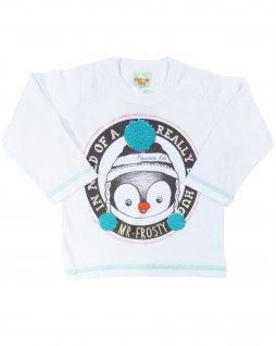 Camiseta Infantil Mr. Frosty - Pimentinha