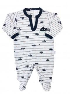 Macacão para Bebê Submarino - Piu Piu