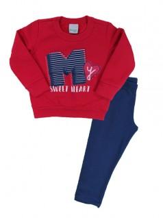 Conjunto Infantil Sweet Heart - Malwee