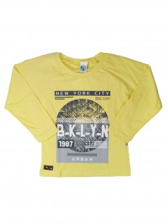 Camiseta Infantil Menino Manga Longa New York City  - Big Day