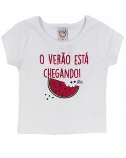 Blusa para Bebê Verão - Boca Grande