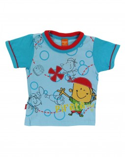 Camiseta Infantil Manga Curta Onde Está o Tesouro - Marisol